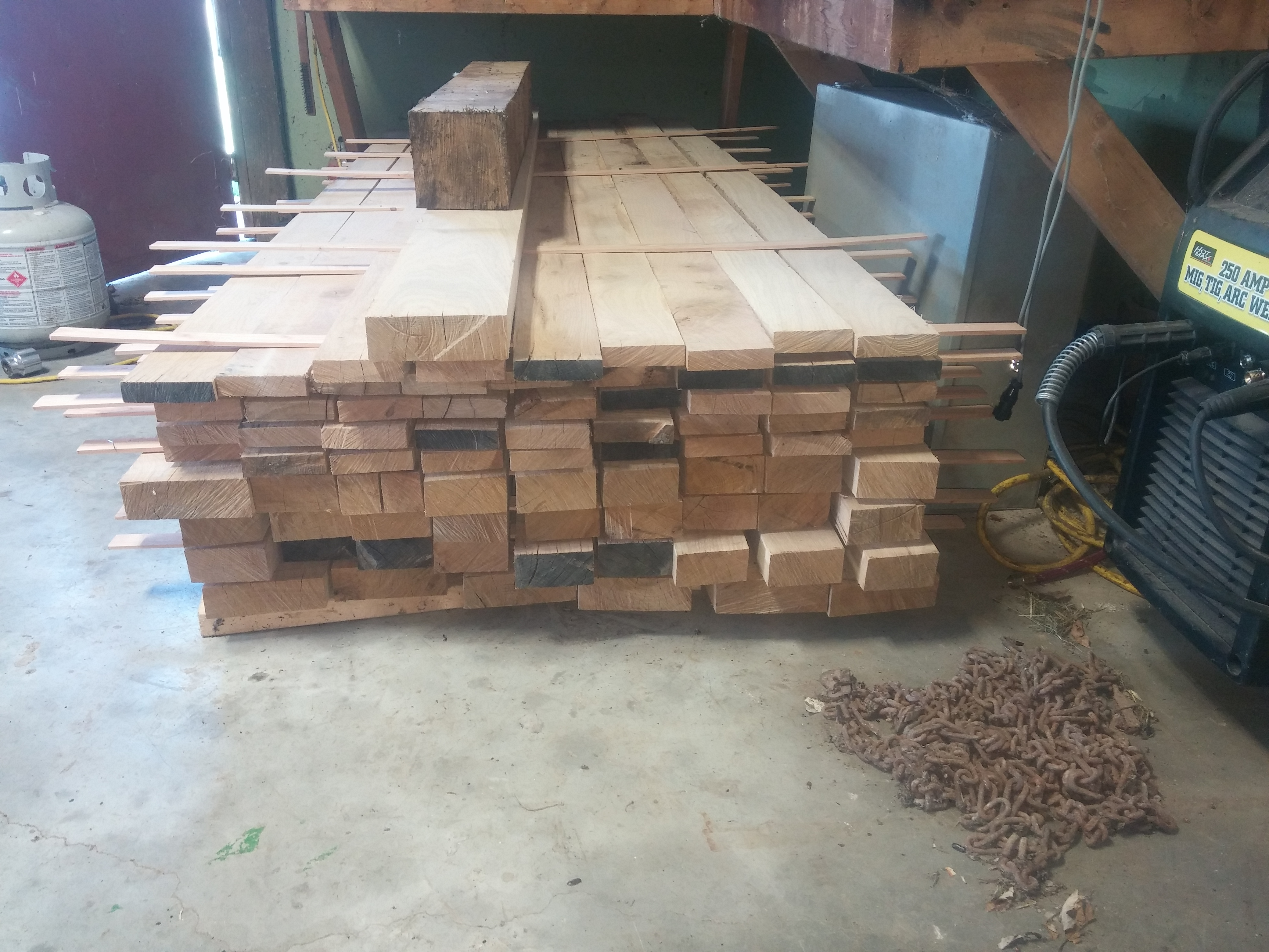 more wood